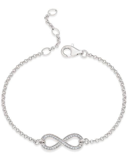 Thomas Sabo | Metallic Charm Club Infinity Bracelet | Lyst