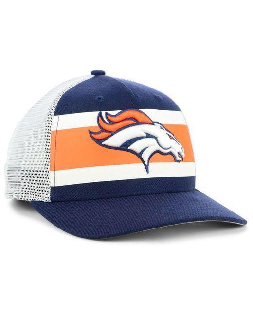 c501feaaaf862 ... 47 Brand - Blue Denver Broncos Team Stripe Mvp Cap for Men - Lyst ...