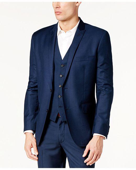 INC International Concepts - Blue James Slim-fit Blazer for Men - Lyst