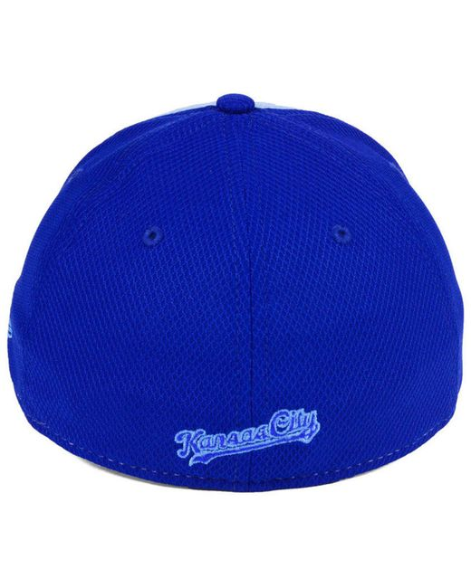 on sale c2290 dc771 ... where can i buy ktz blue kansas city royals fathers day 39thirty  strapback cap 2018 for