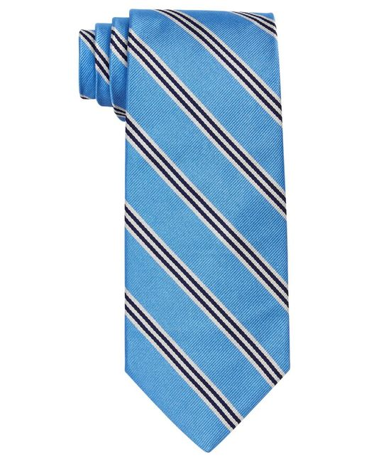 Brooks Brothers | Blue Thin Stripe Tie for Men | Lyst