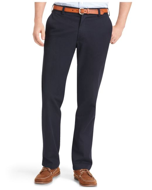 Izod | Blue Chino Pants for Men | Lyst