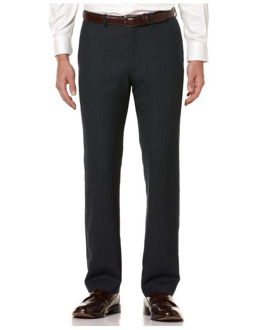 Perry Ellis | Gray Men's Regular Fit Pants for Men | Lyst