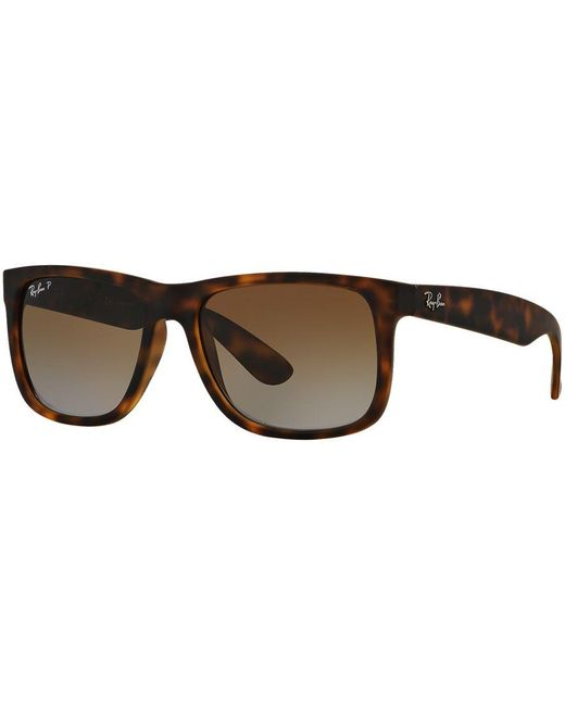 Ray-Ban | Brown Sunglasses, Rb4165 54 Justin Gradient for Men | Lyst