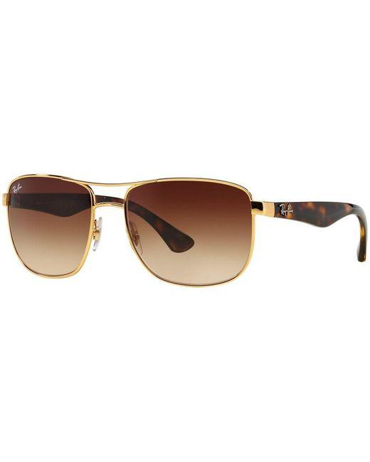 Ray-Ban | Metallic Sunglasses, Rb3533 for Men | Lyst