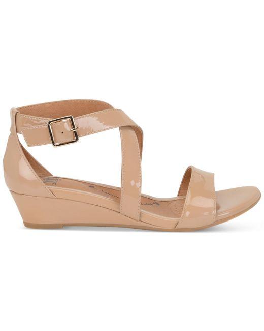 S 246 Fft Innis Sandals In Beige Cashmere Lyst