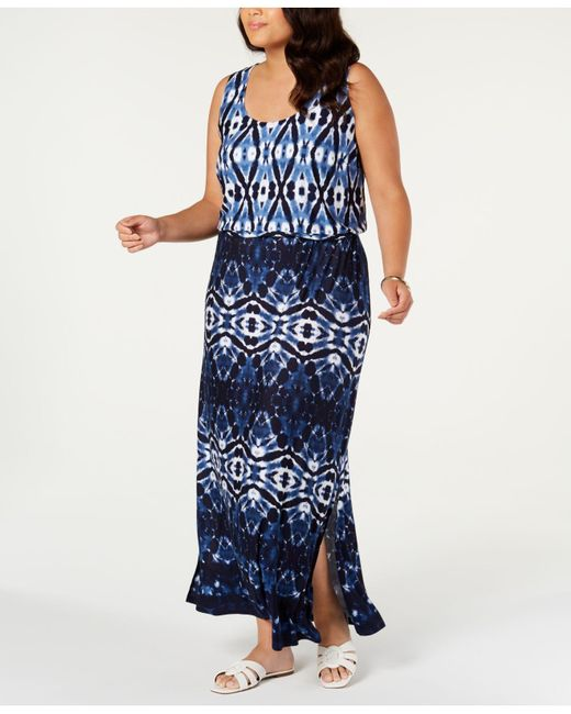 INC International Concepts I.n.c. Plus Size Ombre Maxi Dress ...
