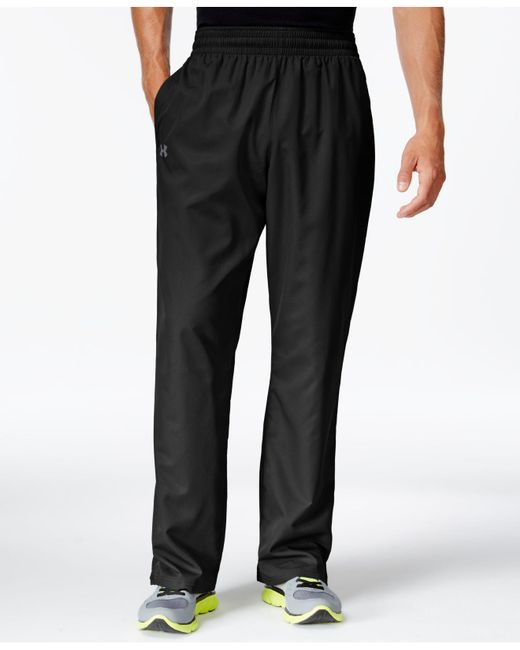 Under Armour - Black Vital Wind-resistant Training Pants for Men - Lyst