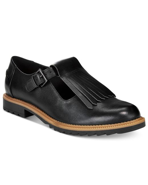 Clarks Collection Women's Griffin Mia Oxford Flats in ...