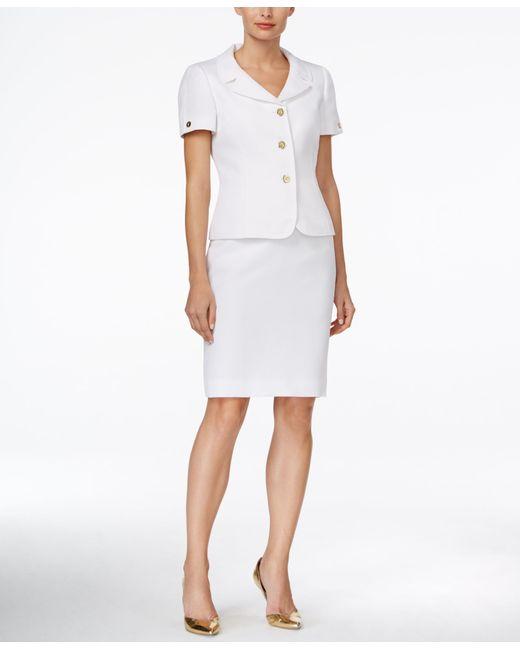 Short sleeve skirt suits