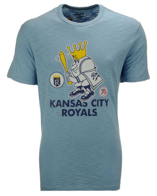 47 brand men 39 s kansas city royals crosstown scrum bic t for Custom shirts kansas city