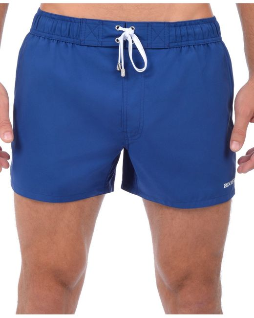 2xist | Blue Solid Ibiza Volley Shorts for Men | Lyst