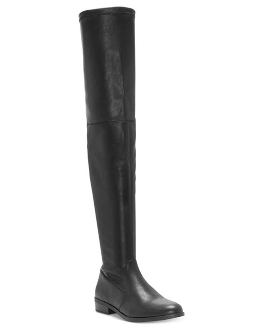 INC International Concepts | Black Irinaa Stretch Over-the-knee Boots | Lyst