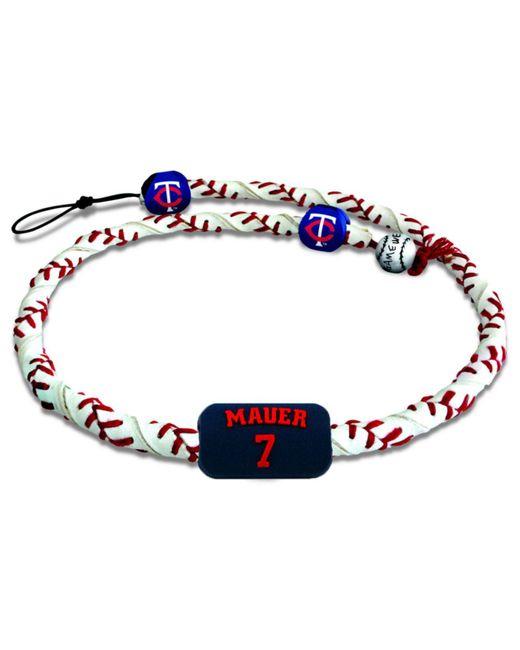 Game Wear - Multicolor Minnesota Twins Joe Mauer Frozen Rope Necklace - Lyst
