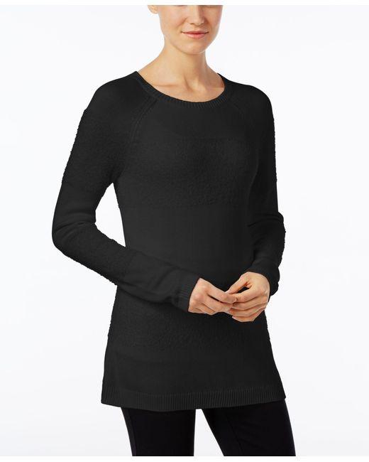 Calvin Klein | Black Mockneck Knit Sweater | Lyst