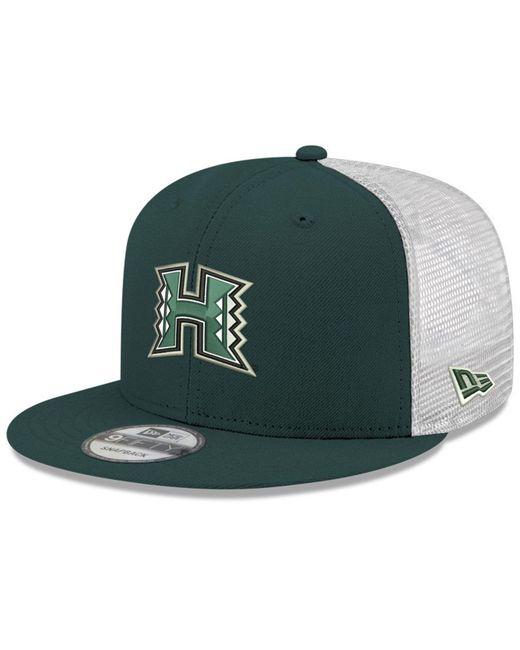 098303767f23c KTZ - Green Hawaii Warriors Tc Meshback Snapback Cap for Men - Lyst ...
