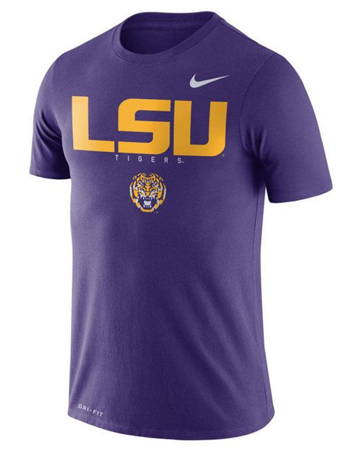 Nike - Purple Lsu Tigers Facility T-shirt for Men - Lyst ... d2735f314
