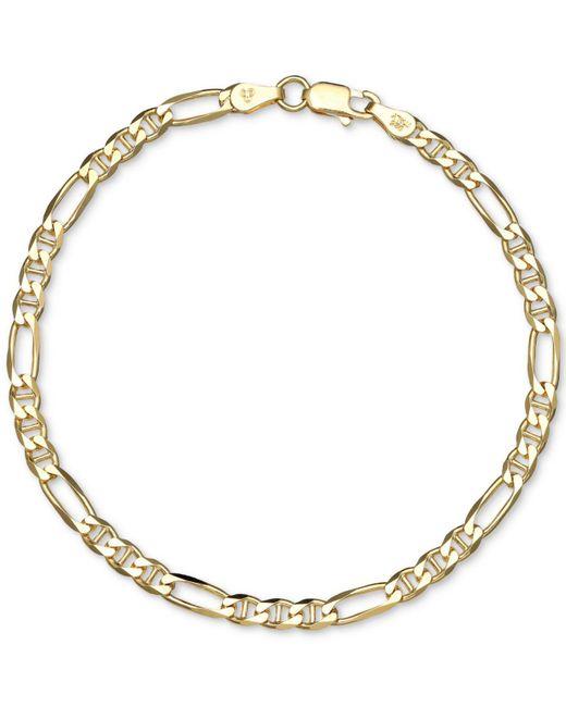 Giani Bernini   Metallic Open Link Bracelet In 18k Gold-plated Sterling Silver   Lyst