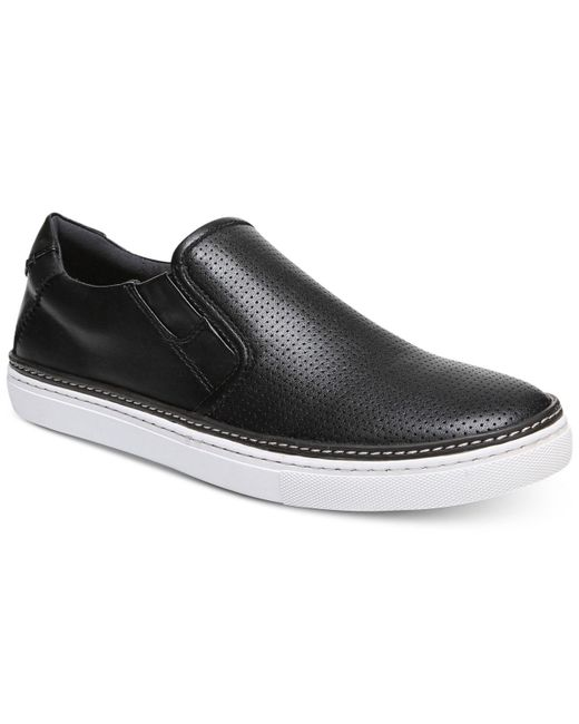 Dr. Scholls - Black Ode Perforated Slip-on Sneakers for Men - Lyst