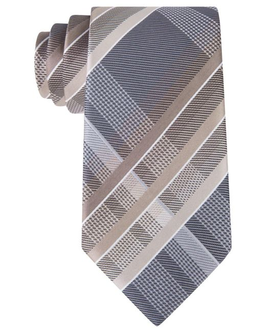 Geoffrey Beene | Multicolor Men's Fearless Plaid Tie for Men | Lyst