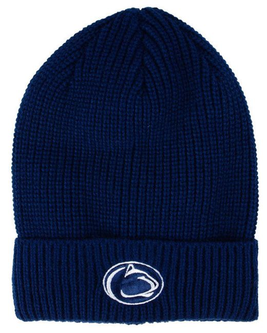 Nike - Blue Cuffed Knit Hat for Men - Lyst ... 3b8a9a710