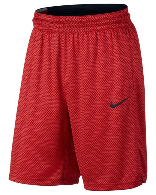 Nike | Red Men's Dri-fit Basketball Shorts for Men | Lyst