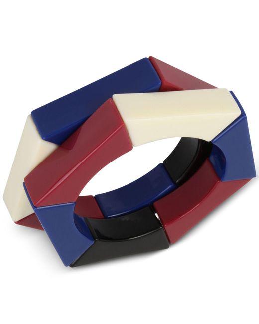 INC International Concepts | Blue 2 Pc. Set Colorful Acrylic Hexagon Stretch Bracelets | Lyst