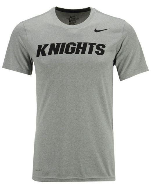 65aaeced Nike - Gray Dri-fit Legend Wordmark T-shirt for Men - Lyst ...