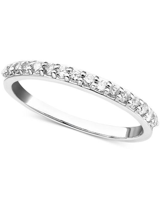 Macy's | Metallic Diamond Ring In 14k White, Yellow Or Rose Gold (1/4 Ct. T.w.) | Lyst