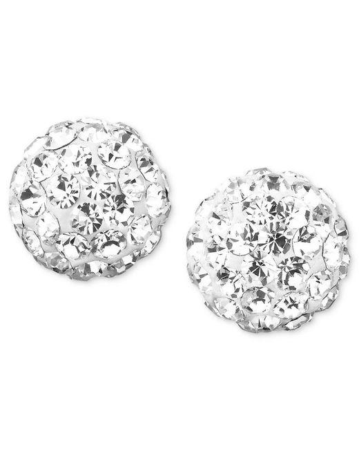 Macy's | Metallic Diamond Stud Earrings (1 Ct. T.w.) In 14k Gold Or White Gold | Lyst