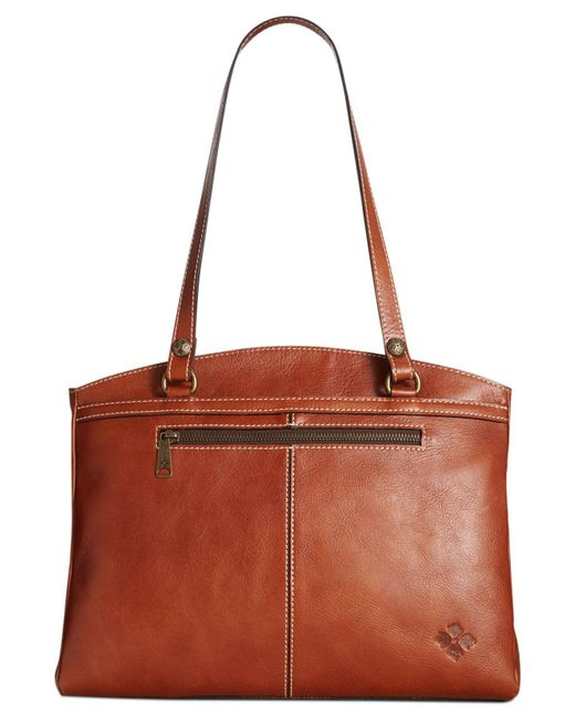 Patricia Nash | Brown Poppy Satchel | Lyst