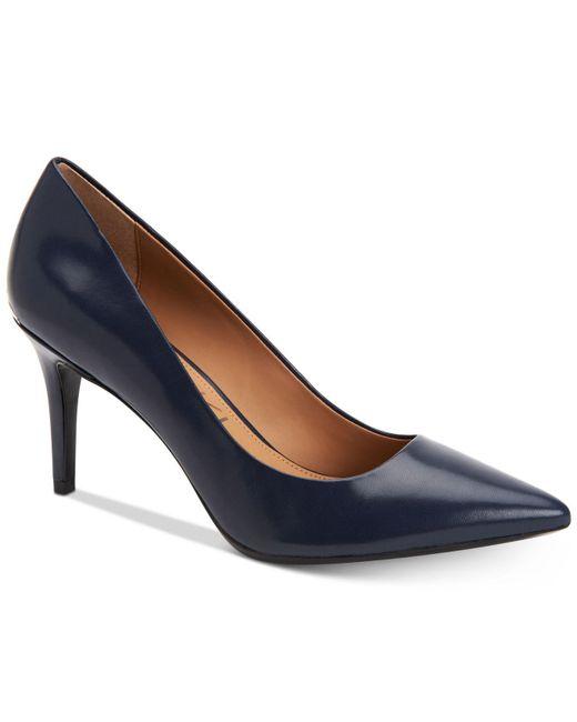 Calvin Klein | Blue Gayle Pumps | Lyst