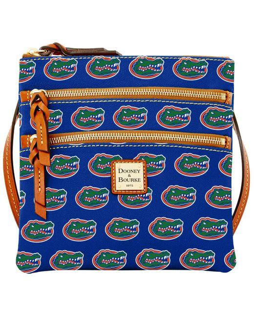 Dooney & Bourke | Blue Florida Gators Triple-zip Crossbody Bag | Lyst