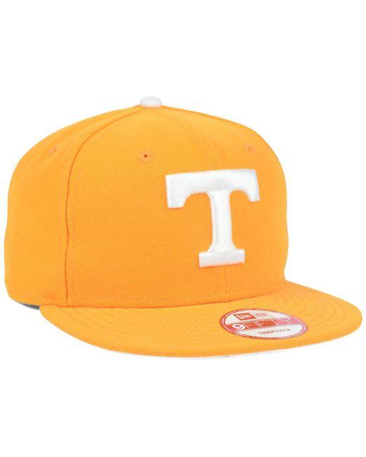 best service 3a042 e13cc ... KTZ - Orange Tennessee Volunteers Core 9fifty Snapback Cap for Men -  Lyst ...