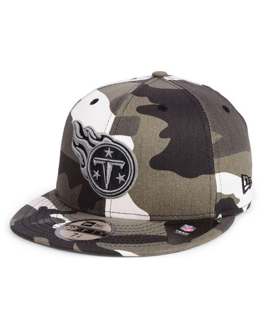 9cdf8c031 KTZ - Multicolor Tennessee Titans Urban Prism Pack 59fifty-fitted Cap for  Men - Lyst ...