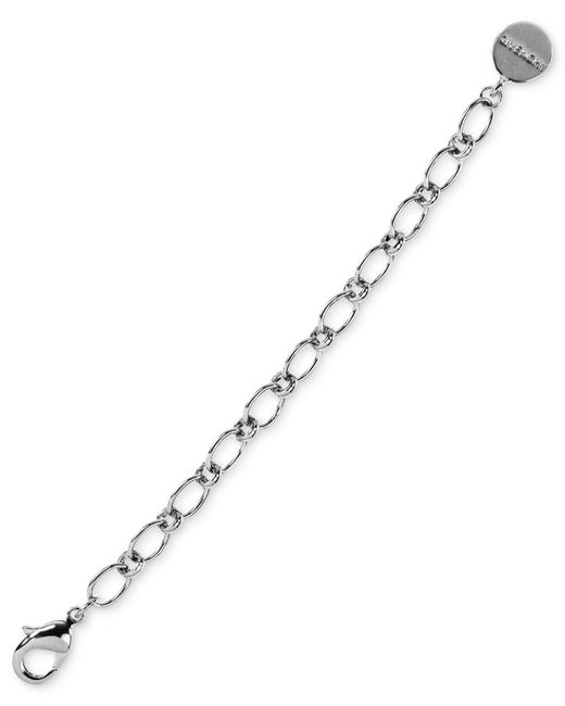 Givenchy - Metallic Extension Chain, Silver-tone Link Extension - Lyst