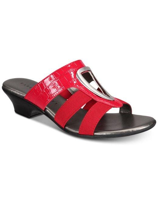 Karen Scott - Red Engle Sandals, Created For Macy's - Lyst