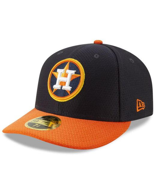 size 40 8ad4f 522e9 ... KTZ - Blue Houston Astros Spring Training 59fifty-fitted Low Profile Cap  for Men ...