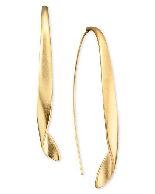 Kenneth Cole | Metallic Earrings, Gold-tone Drop | Lyst