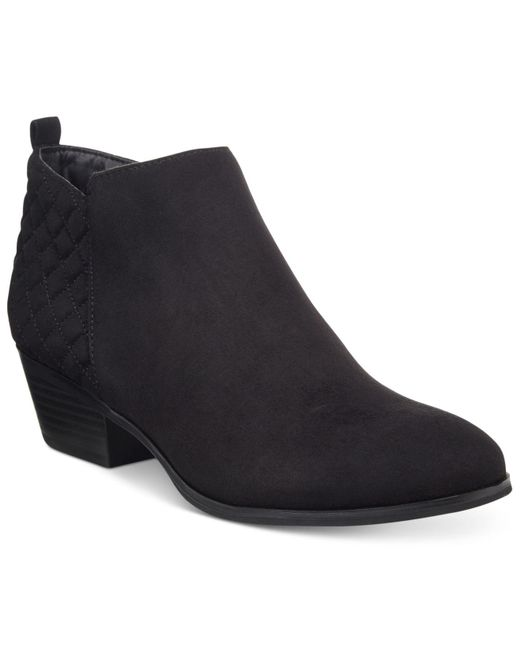 Style & Co. | Black . Wessley Casual Booties, Only At Macy's | Lyst
