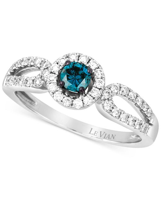 Le Vian | Metallic Diamond Ring (1/2 Ct. T..w) In 14k White Gold | Lyst