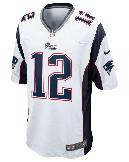 tom brady white jersey men
