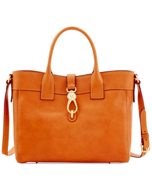 Dooney & Bourke | Natural Florentine Amelie Large Tote | Lyst