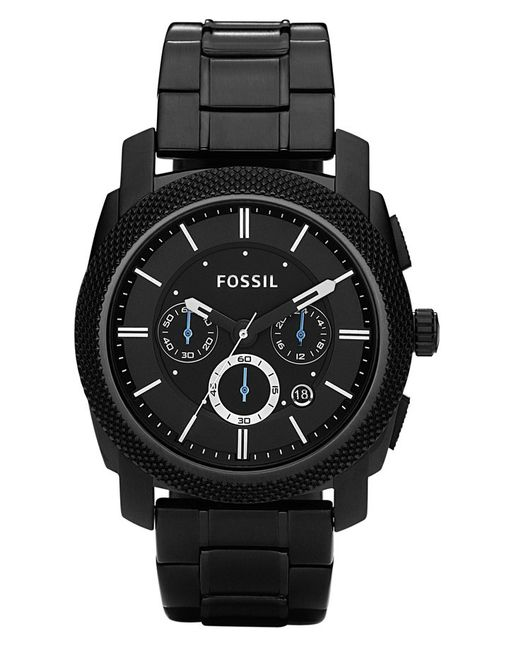 Fossil | Machine Black-dial Chronograph Watch for Men | Lyst