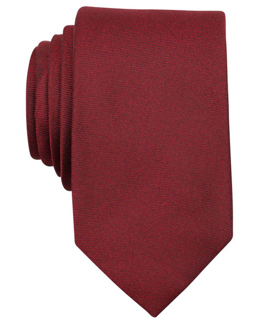 Perry Ellis - Red Dolby Solid Slim Tie for Men - Lyst