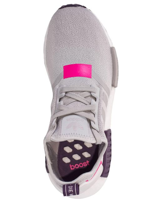 d7d3d2b78371f ... Adidas - Gray Nmd R1 Casual Sneakers From Finish Line - Lyst ...