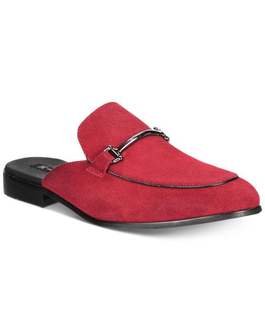 INC International Concepts - Red Blaze Mules, Created For Macy's - Lyst