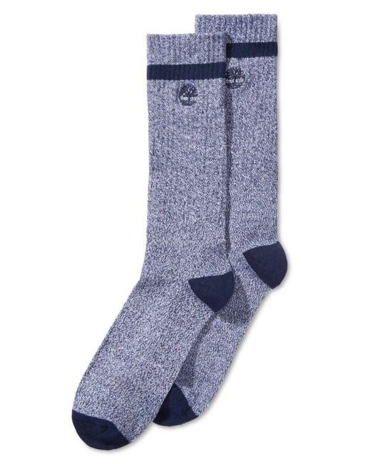 Timberland - Blue 2-pk. Marled Socks for Men - Lyst