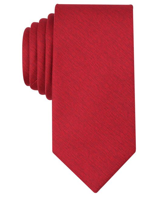 Perry Ellis | Red Men's Norfolk Solid Tie for Men | Lyst
