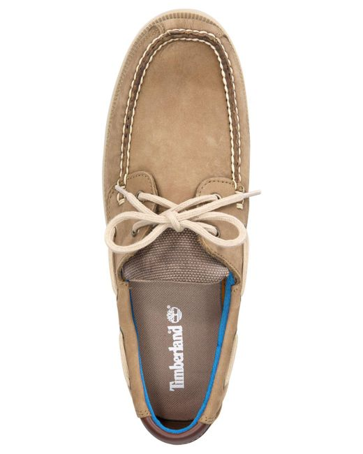 0a8d811682 ... Timberland - Multicolor Men's Piper Cove Leather Boat Shoes for Men ...